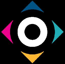 orientazione- pittogramma logo colorato